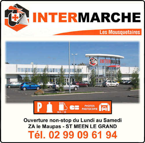 intermarché, supermarché, station-service