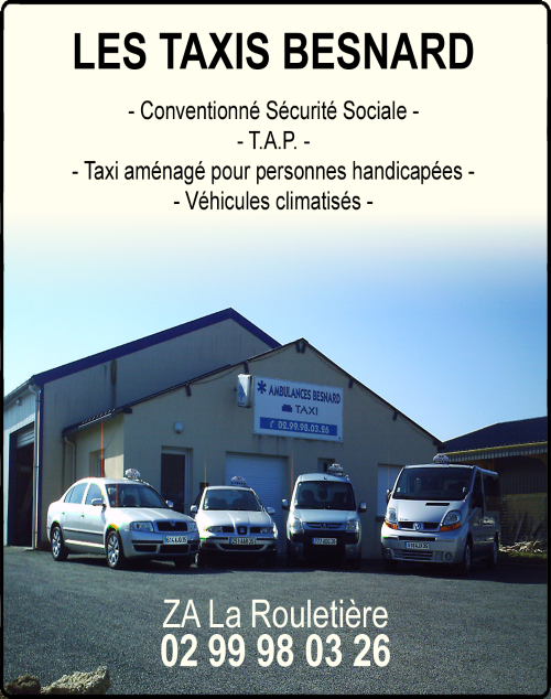 les taxis besnard, taxis