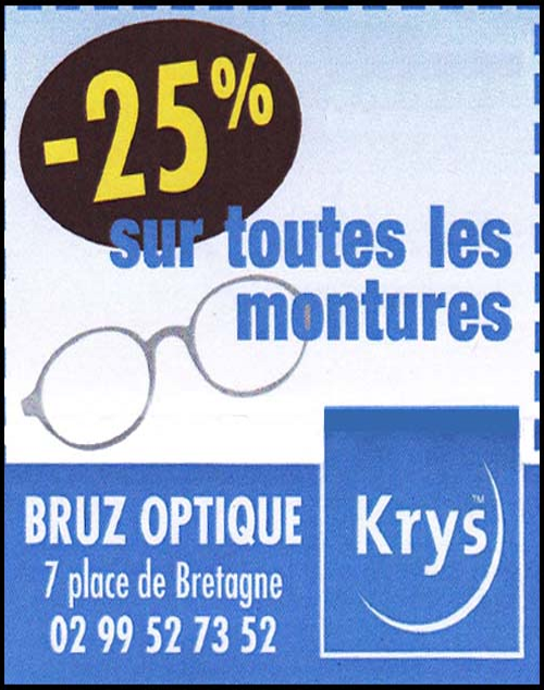 bruz optique krys, opticien,