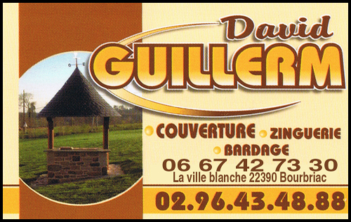 guillerm david, couverture,zinguerie,bardage