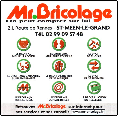 Canton de saint meen le grand - Mr bricolage rennes ...