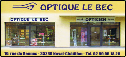 optique le bec, opticien,