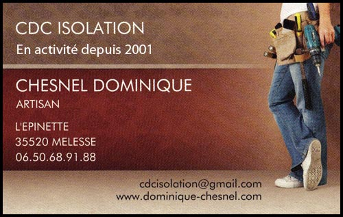 cdc isolation - chesnel dominique, cloisons sèches,isolation, faux-plafonds, plafonds phoniques