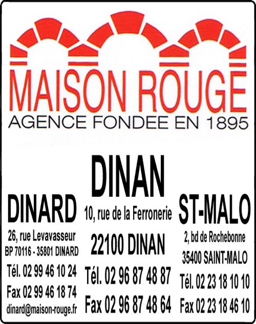maison rouge, agences immobilieres,  ,