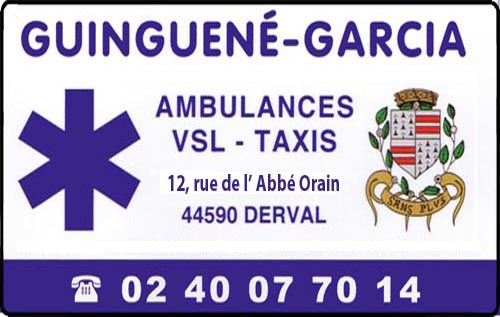 guinguené - garcia, , taxis, ambulances,