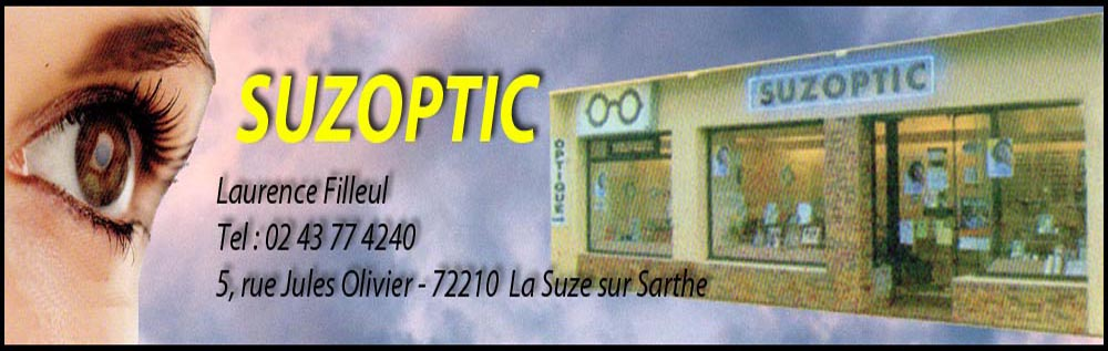 suzoptic - laurence filleul, , opticien,