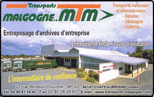 transports malgogne, , transports, archivage