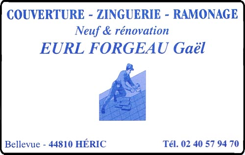 gaël forgeau, couverture,ramonage,zinguerie,  ,