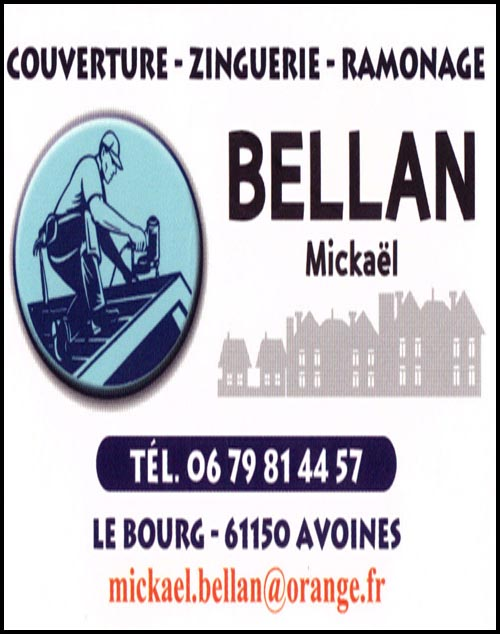 mickaël bellan, couverture,ramonage,zinguerie,
