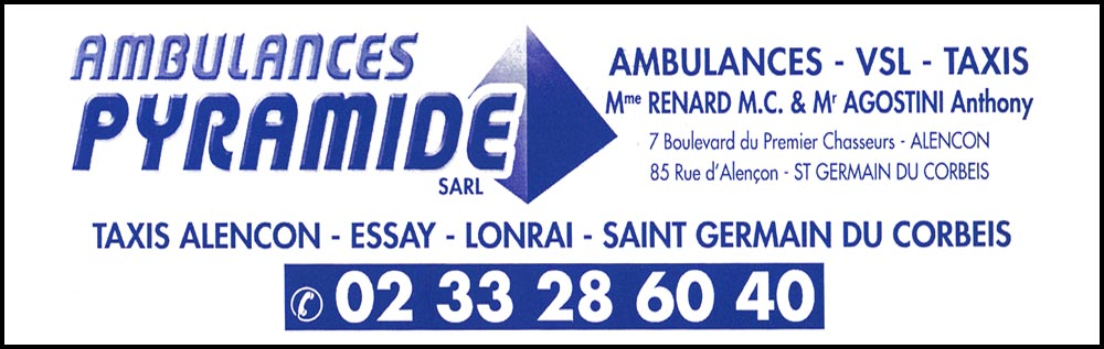 ambulances pyramide - m.c. renard et anthony agostini, , taxis, ambulances,