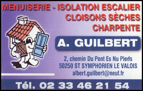 albert guilbert, cloisons sèches,isolation, charpente, menuiserie,escaliers,