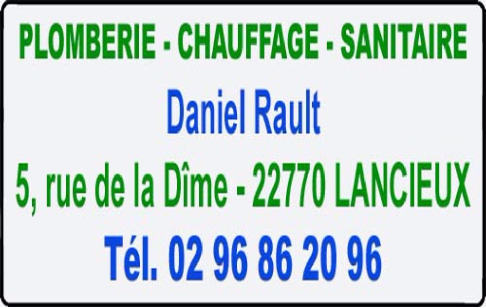 daniel rault, plomberie, chauffage, sanitaires
