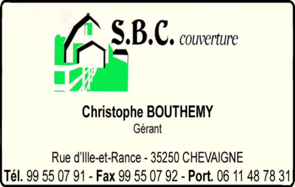 s.b.c couverture - christophe bouthemy, couverture