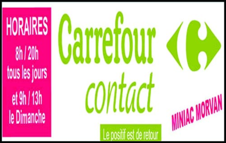 carrefour contact, supermarché